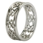 celtic rings wedding